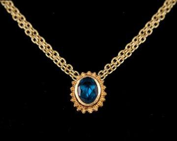 London Sunburst Necklace